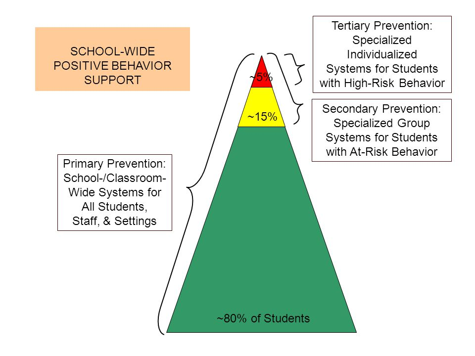 Systems for Students with High-Risk Behavior SCHOOL-WIDE