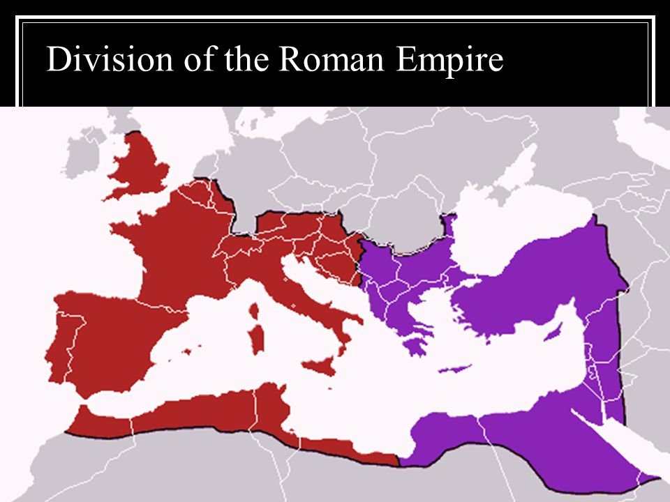 Division of the Roman Empire
