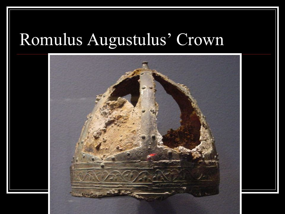 Romulus Augustulus' Crown