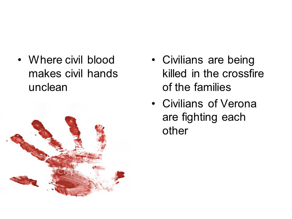 Where civil blood makes civil hands unclean