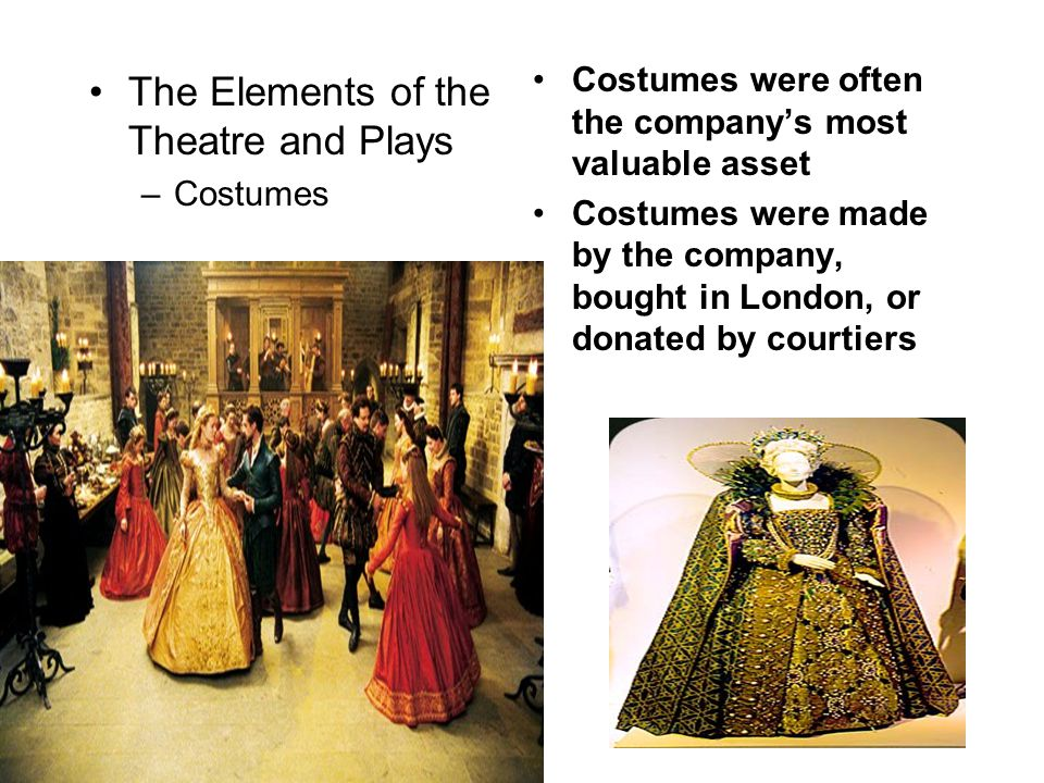 The Elements of the Theatre and Plays
