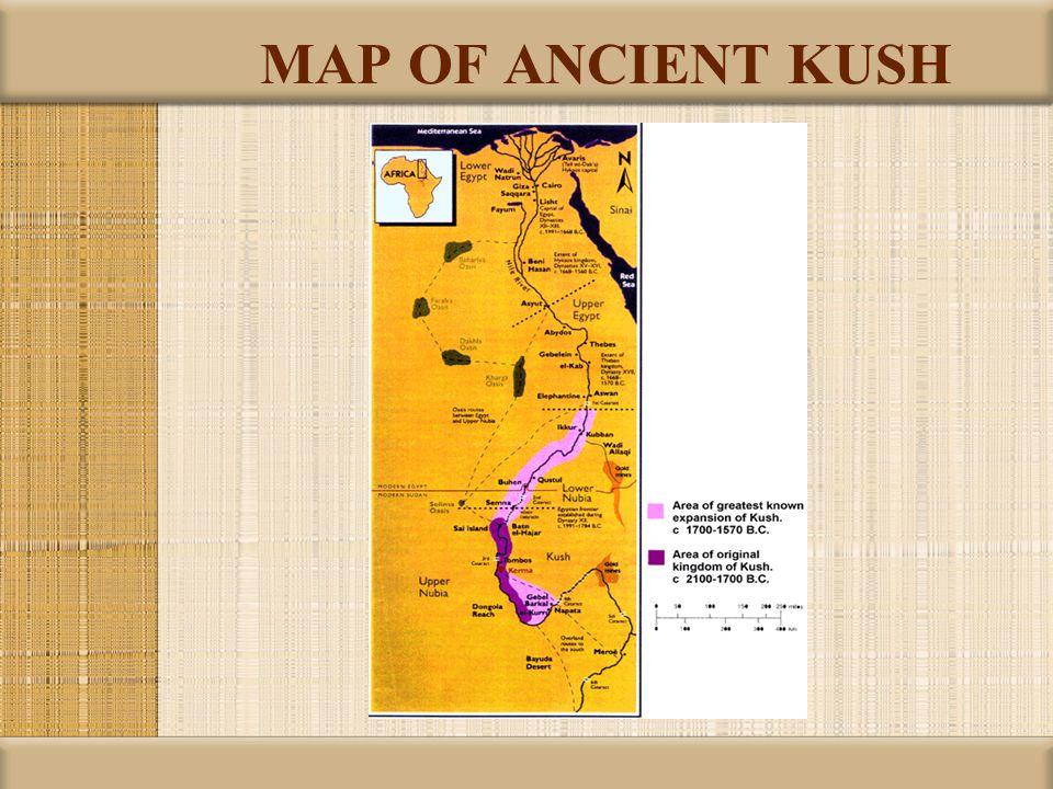 MAP OF ANCIENT KUSH