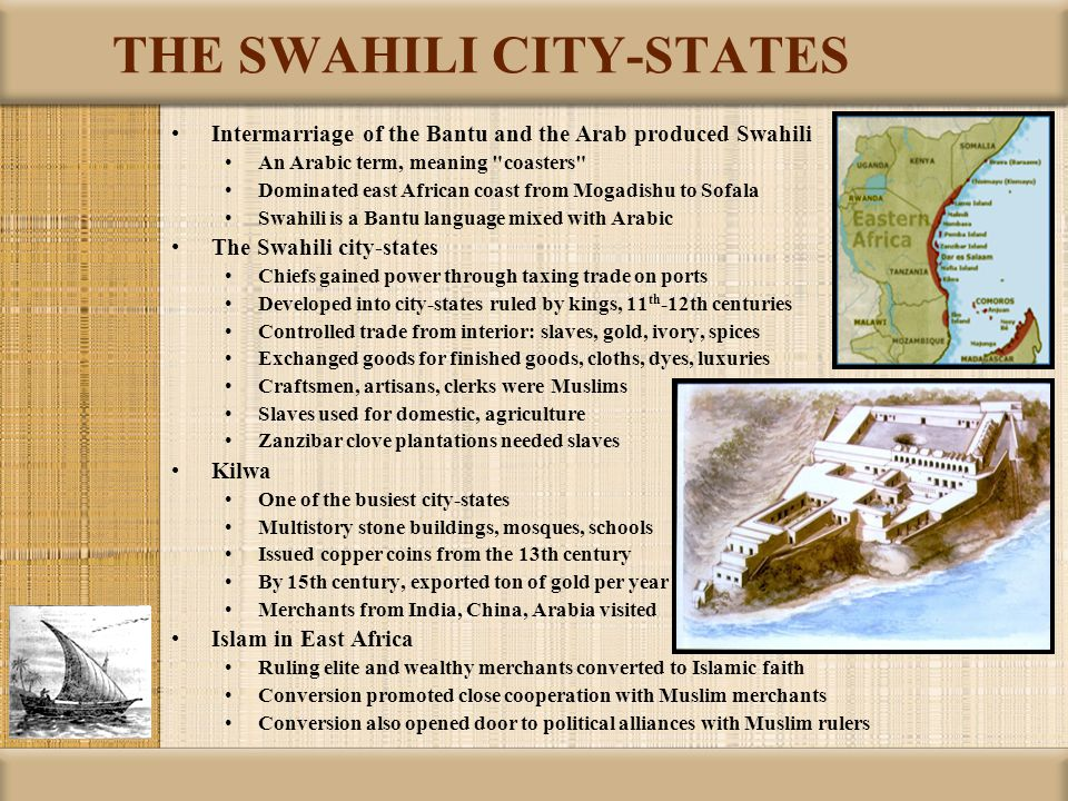 THE SWAHILI CITY-STATES