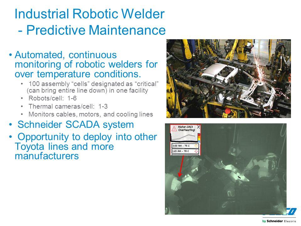 Industrial Robotic Welder - Predictive Maintenance