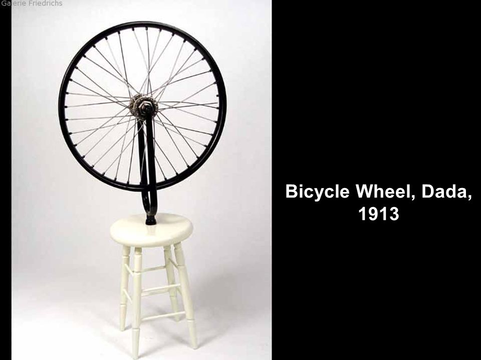 Bicycle Wheel, Dada, 1913
