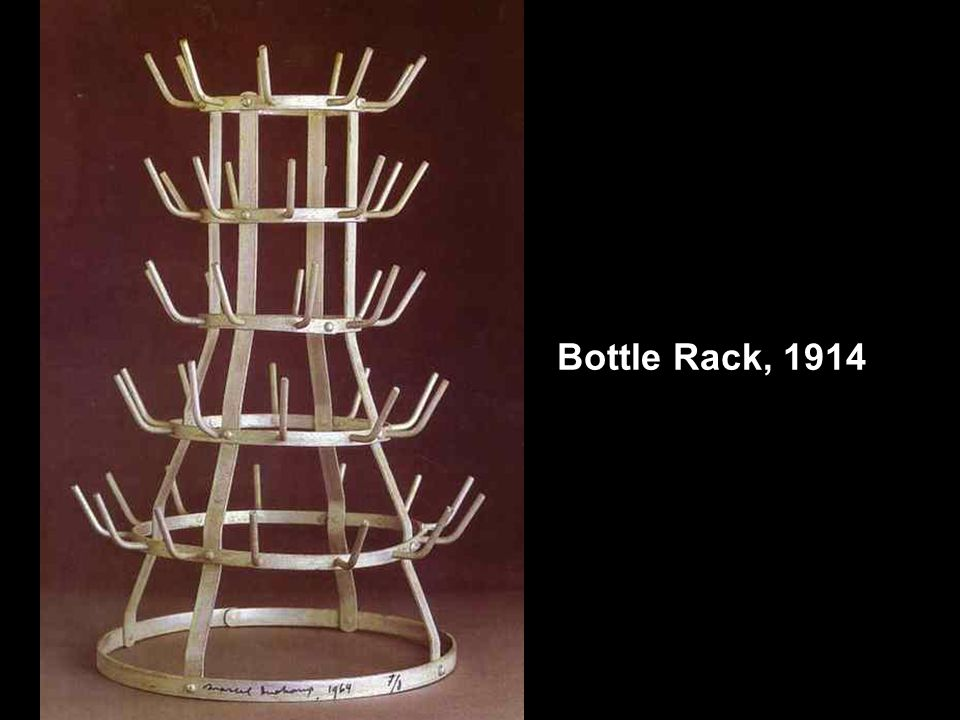 Bottle Rack, 1914