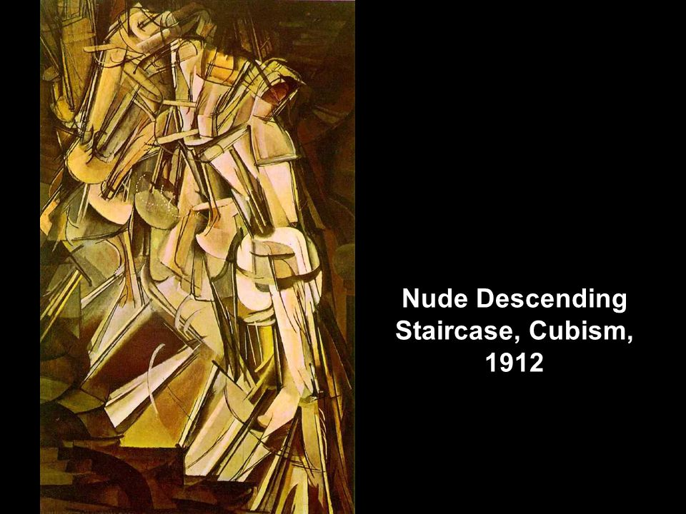 Nude Descending Staircase, Cubism, 1912