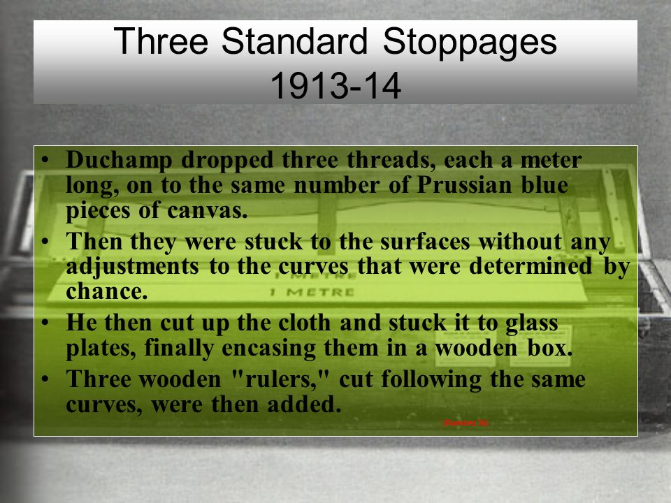 Three Standard Stoppages 1913-14