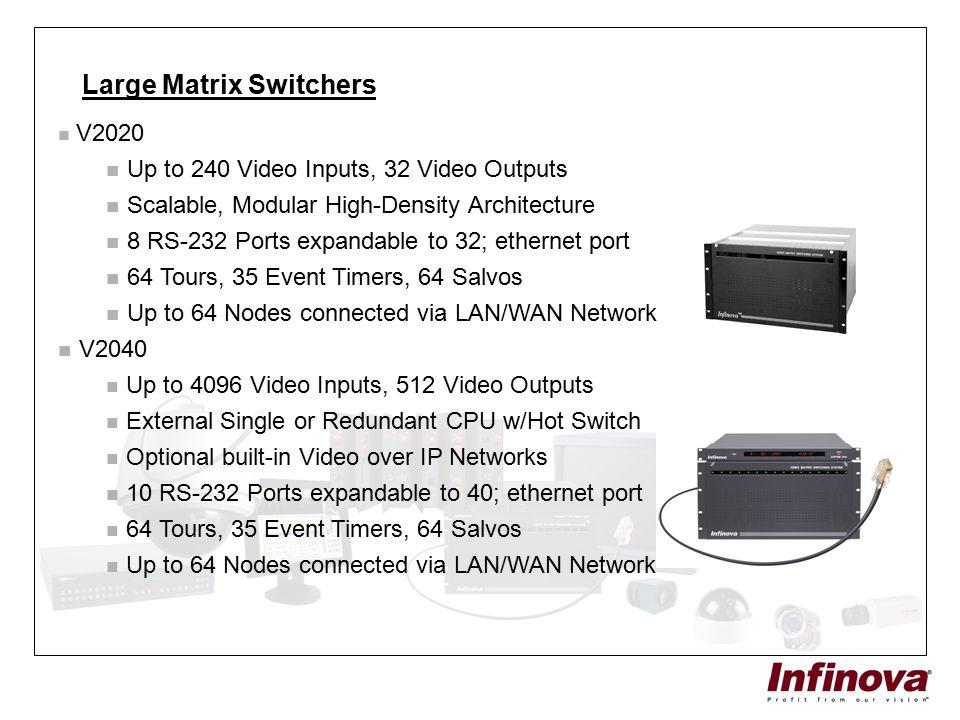 Large Matrix Switchers
