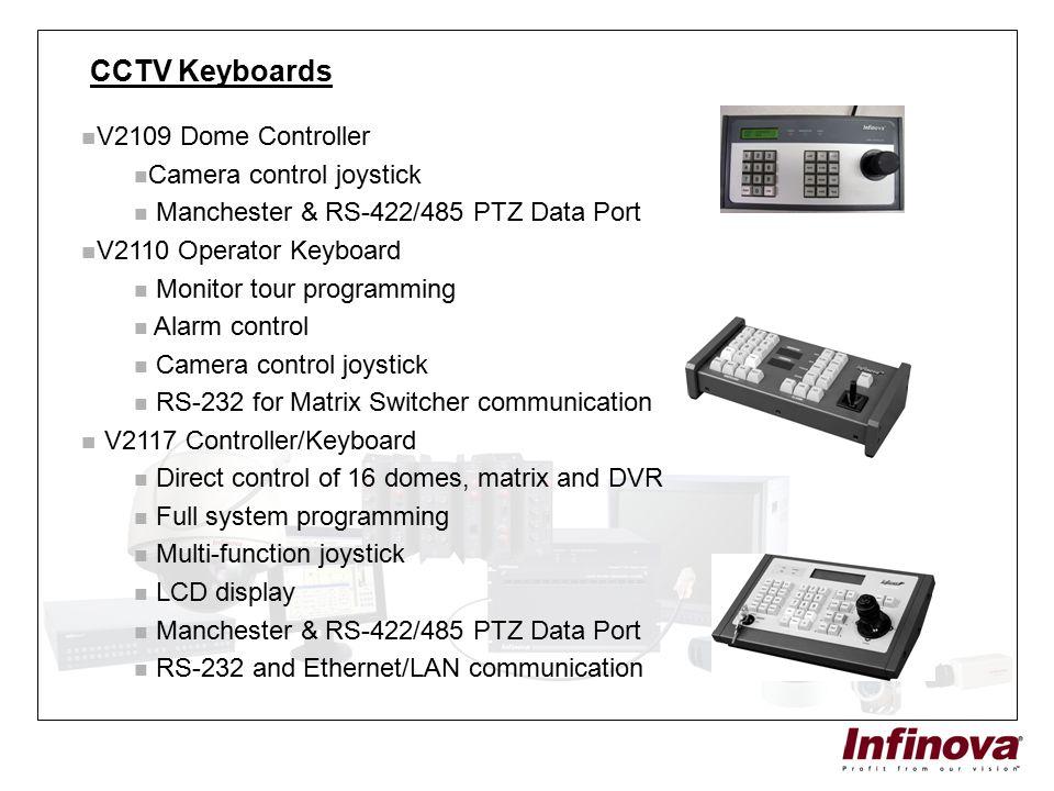 CCTV Keyboards V2109 Dome Controller Camera control joystick