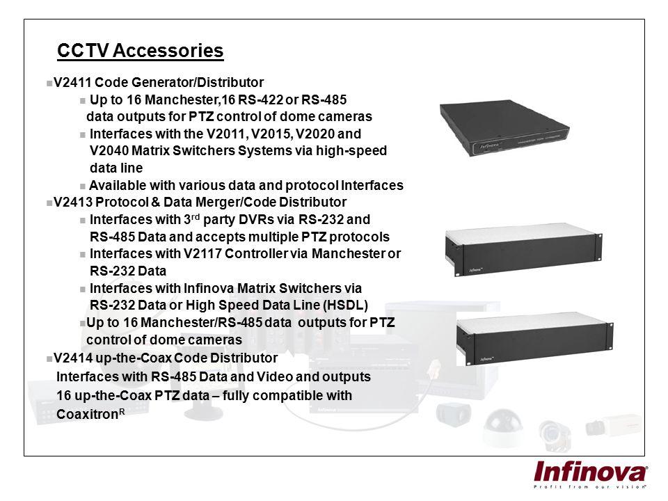CCTV Accessories V2411 Code Generator/Distributor