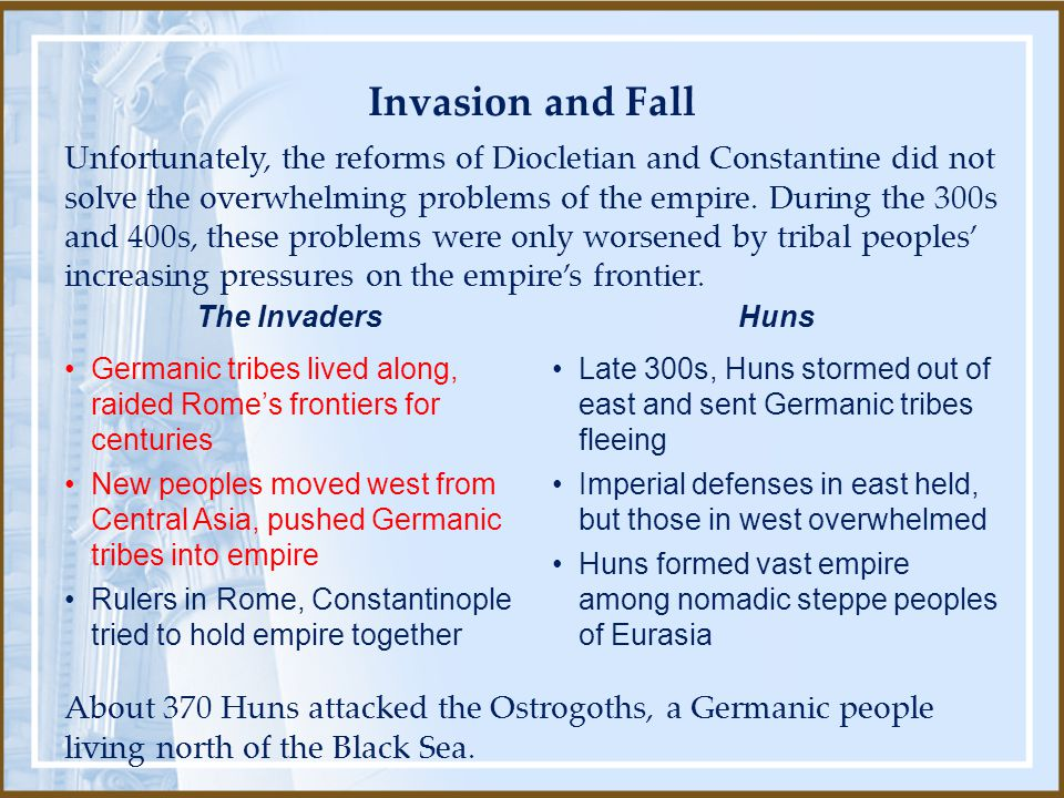 Invasion and Fall