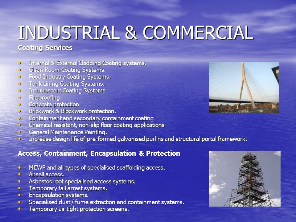 INDUSTRIAL & COMMERCIAL