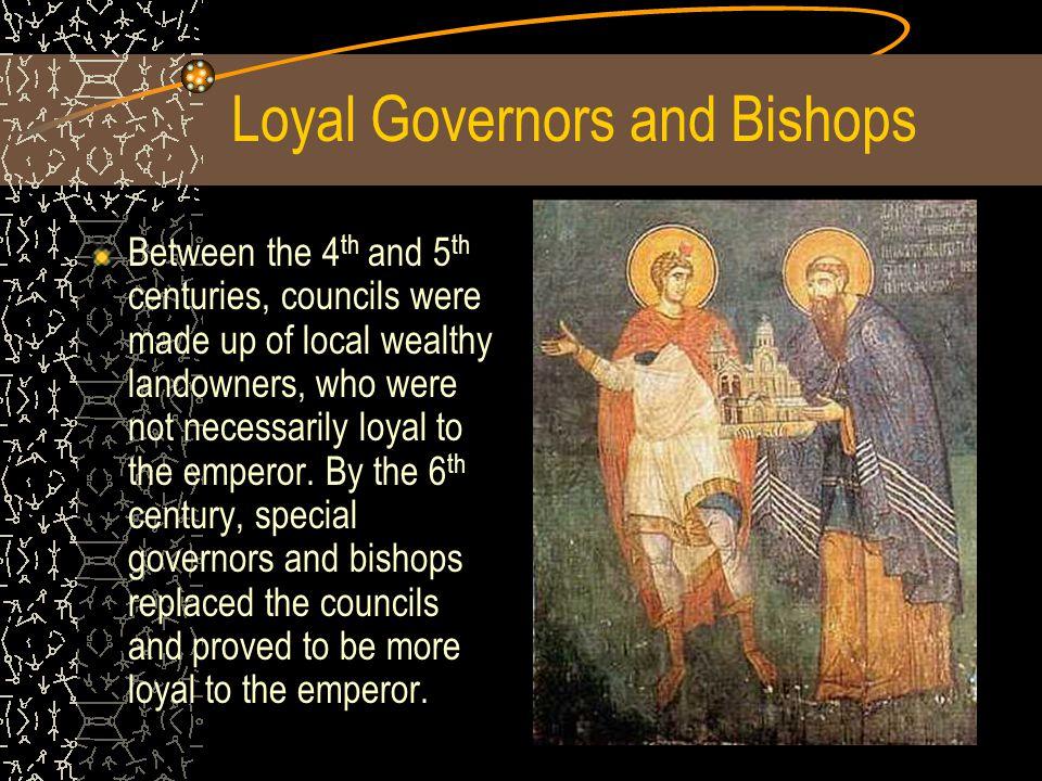 Loyal Governors and Bishops