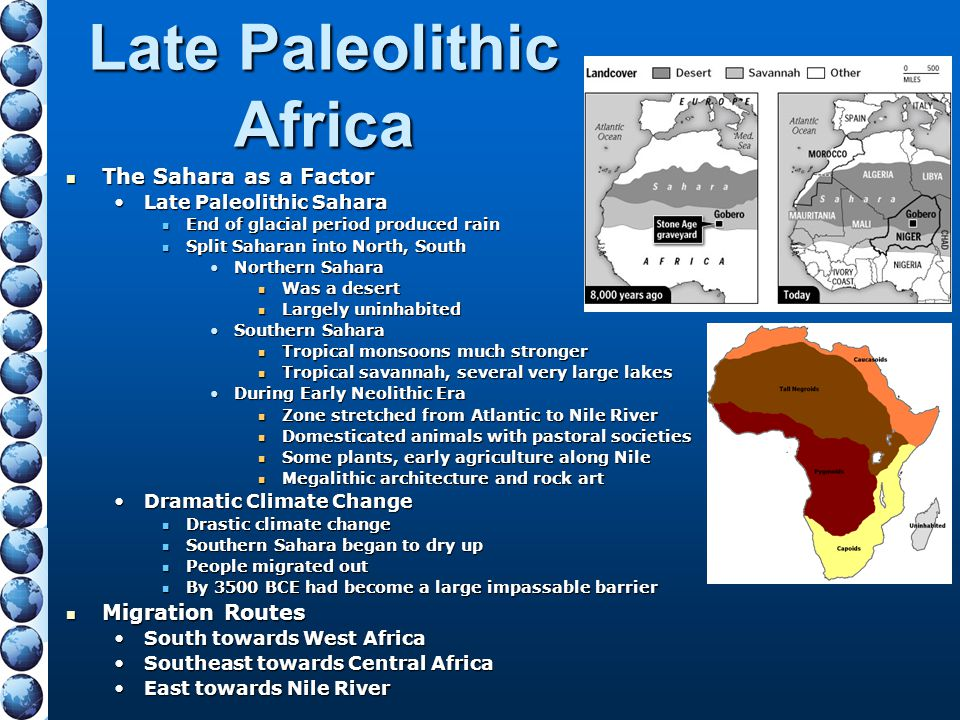 Late Paleolithic Africa