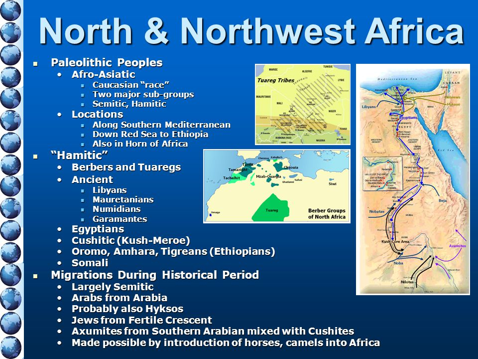 North & Northwest Africa