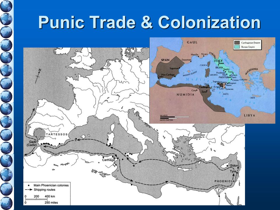 Punic Trade & Colonization
