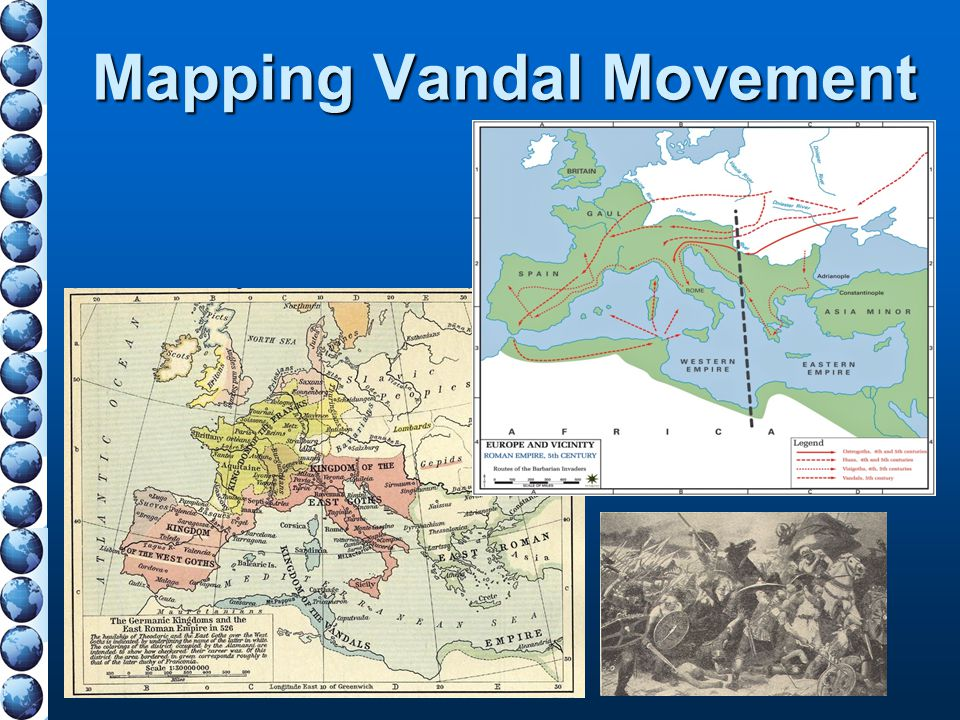 Mapping Vandal Movement