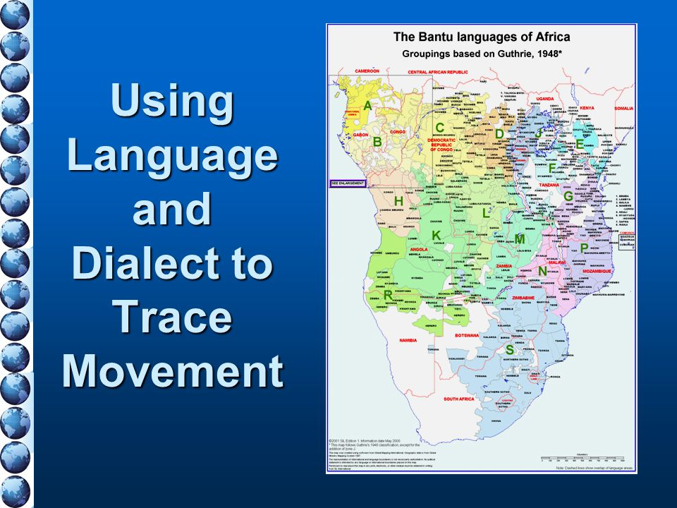 Using Language and Dialect to Trace Movement
