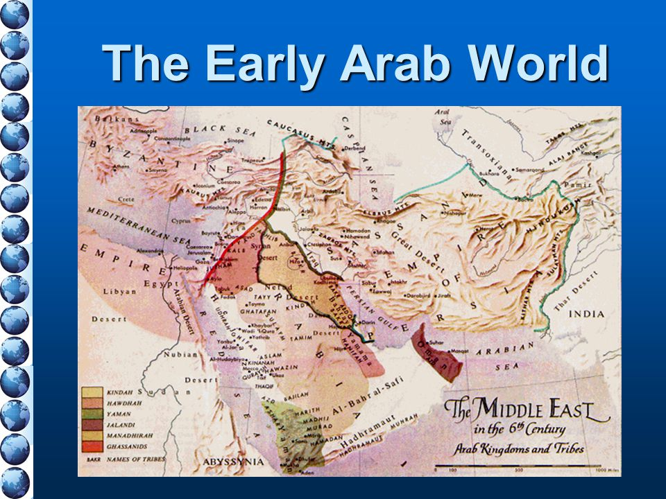The Early Arab World