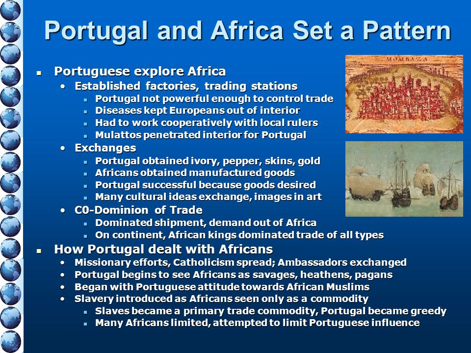 Portugal and Africa Set a Pattern