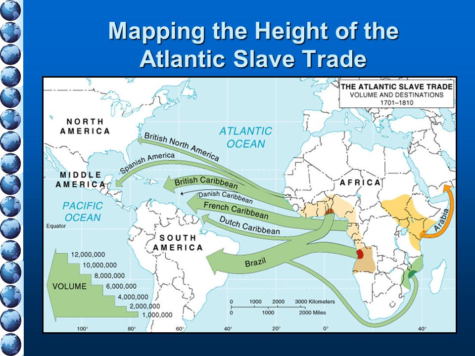 Mapping the Height of the Atlantic Slave Trade