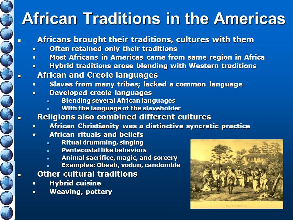 African Traditions in the Americas