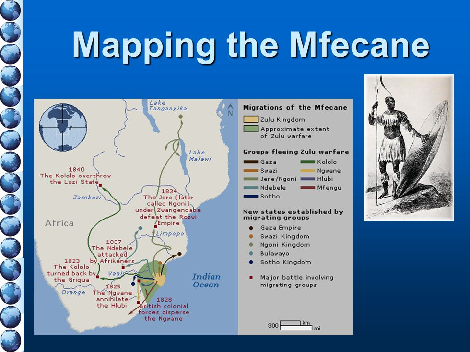 Mapping the Mfecane