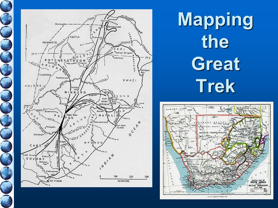 Mapping the Great Trek