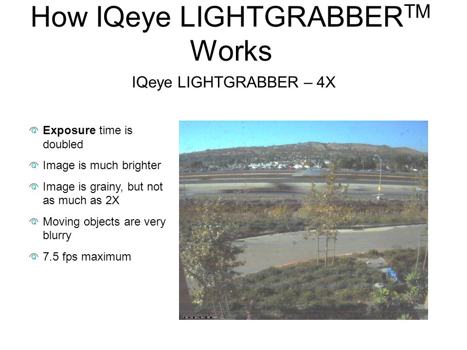 How IQeye LIGHTGRABBERTM Works