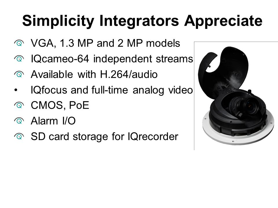 Simplicity Integrators Appreciate