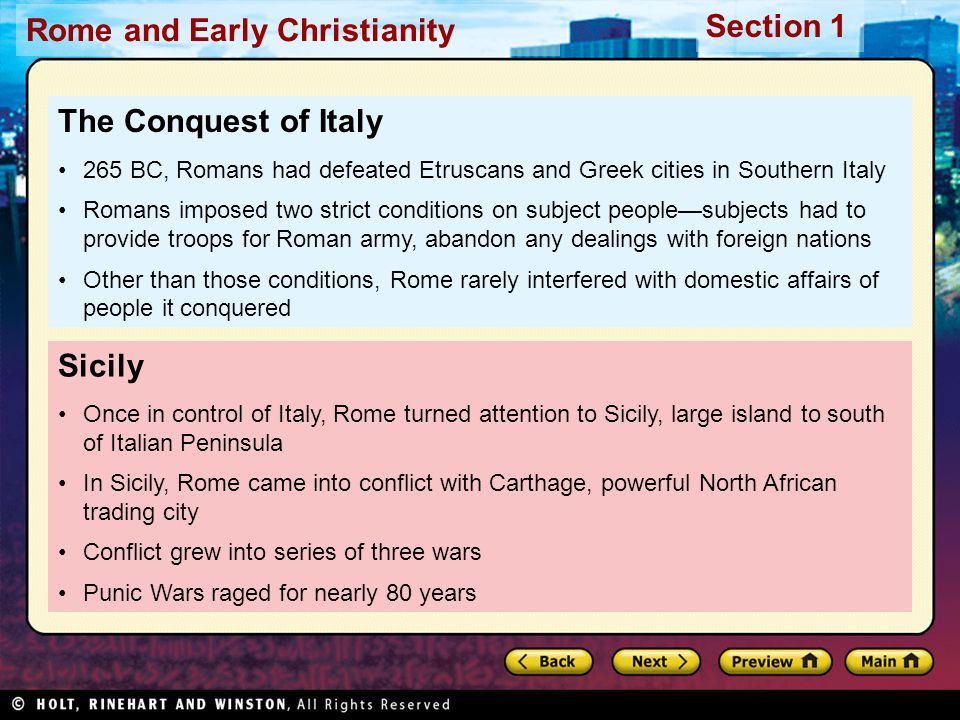 The Conquest of Italy Sicily