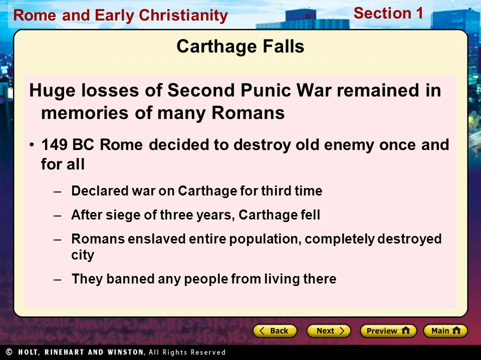 Huge losses of Second Punic War remained in memories of many Romans