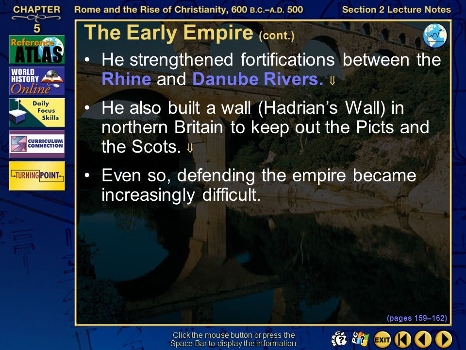 The Early Empire (cont.)