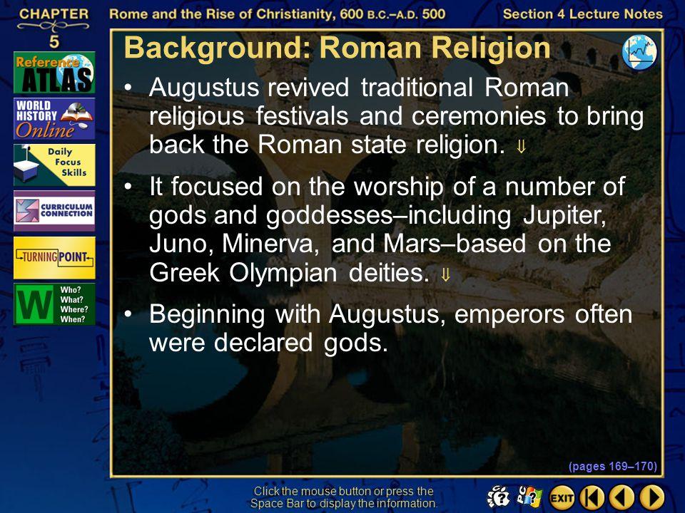 Background: Roman Religion