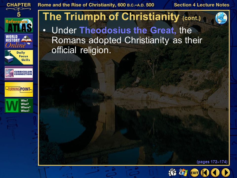 The Triumph of Christianity (cont.)