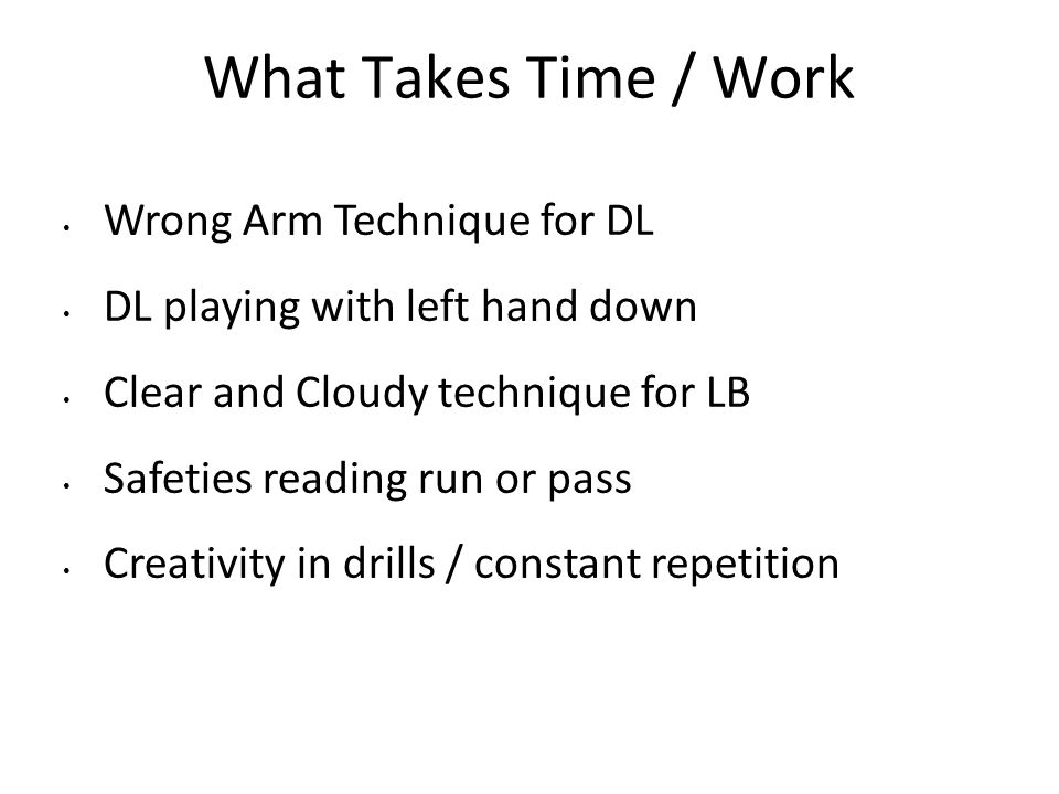 What Takes Time / Work Wrong Arm Technique for DL