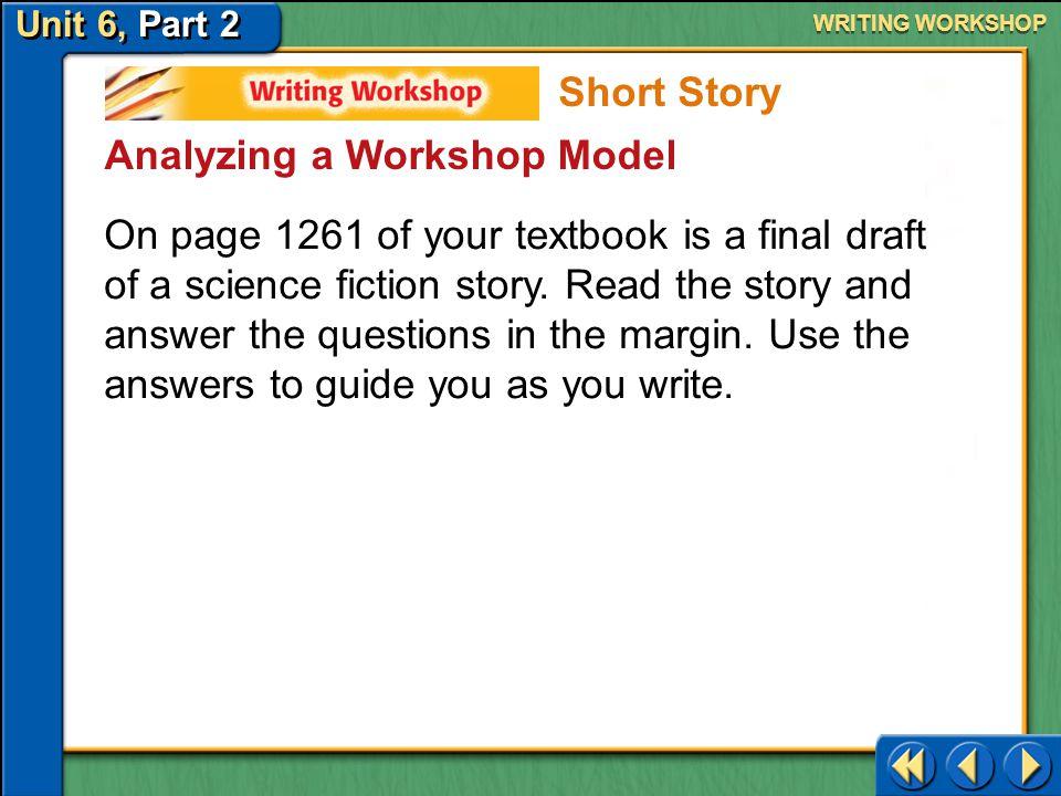 Analyzing a Workshop Model