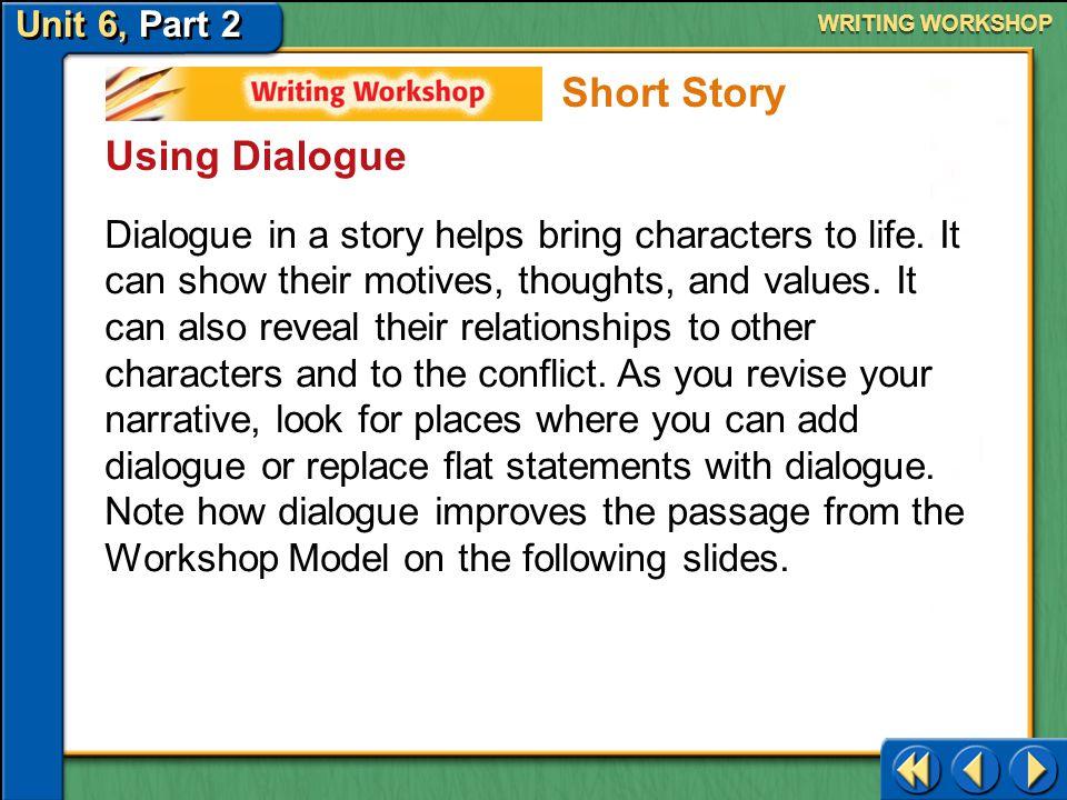 Short Story Using Dialogue