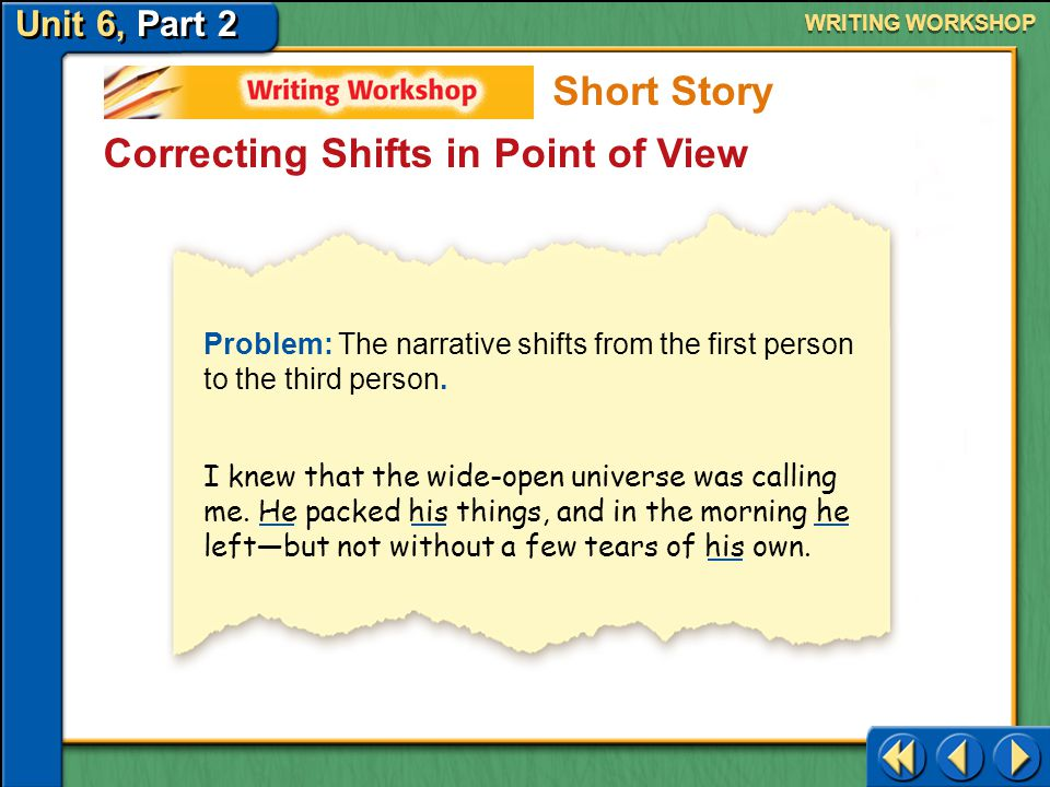 Correcting Shifts in Point of View