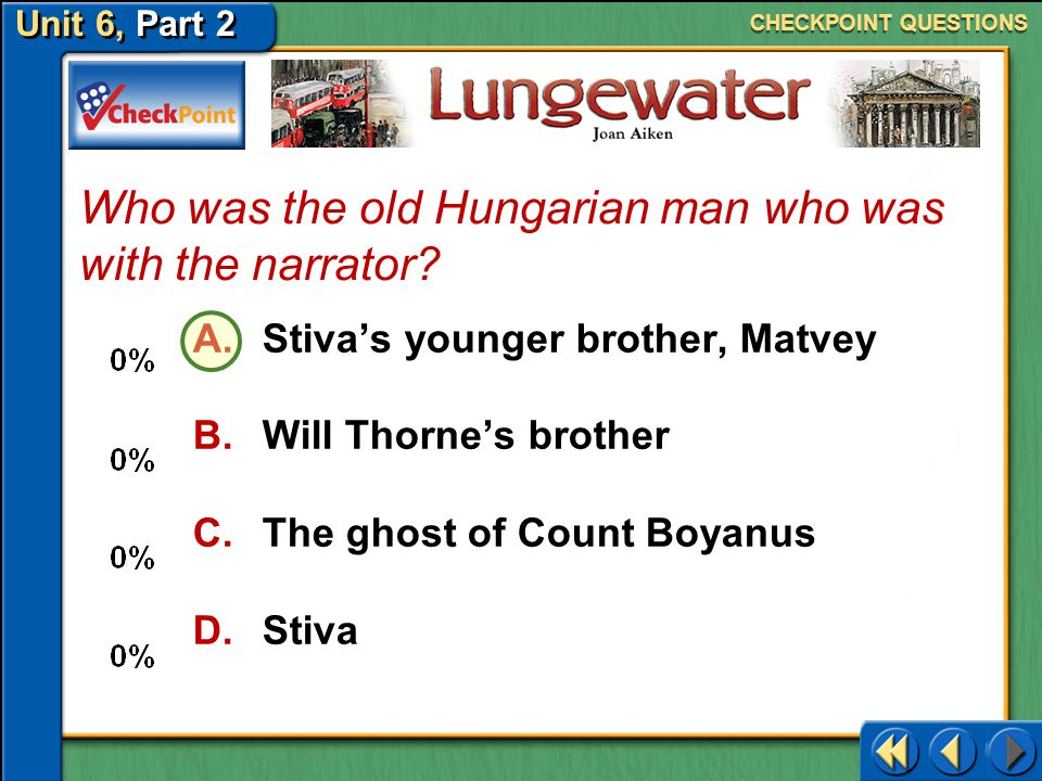 Who was the old Hungarian man who was with the narrator