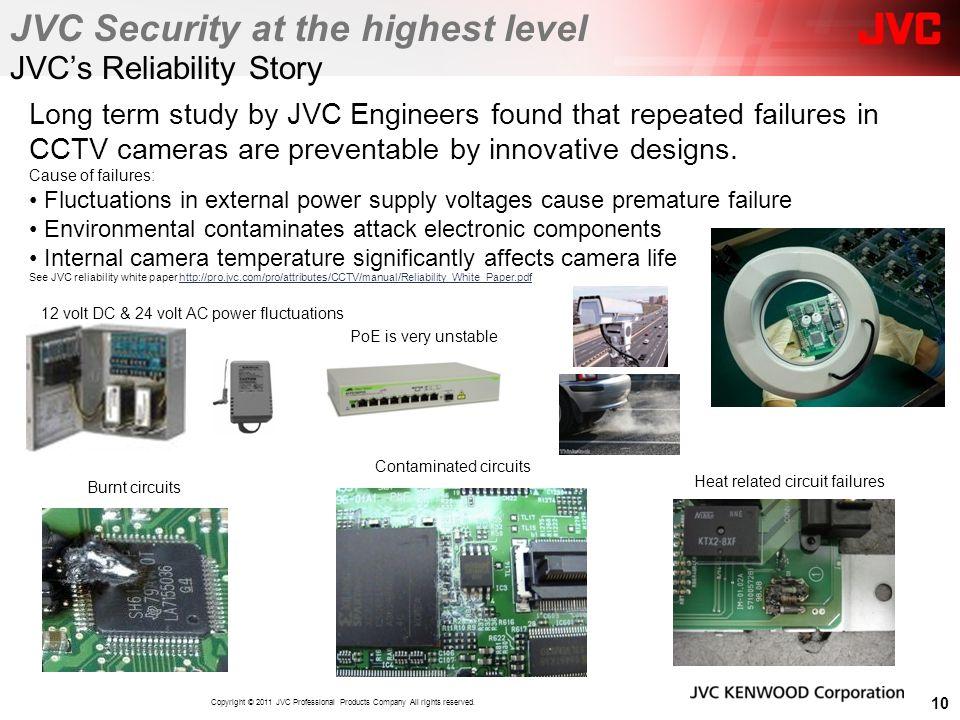 JVC's Reliability Story