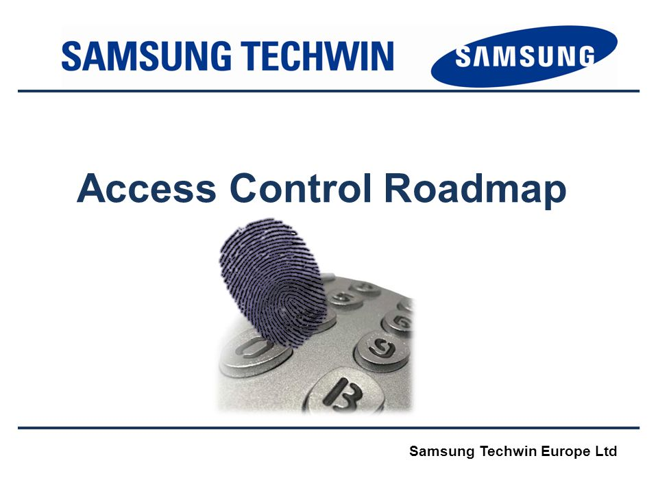 Access Control Roadmap