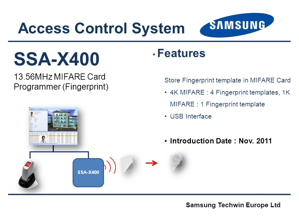 SSA-X400 Access Control System