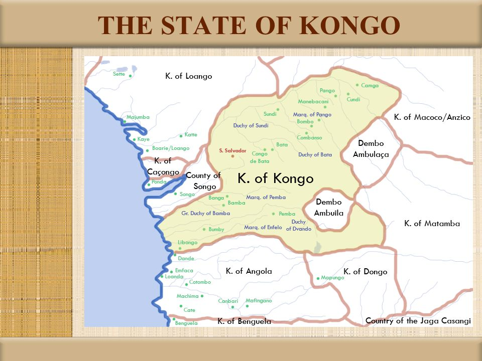 THE STATE OF KONGO