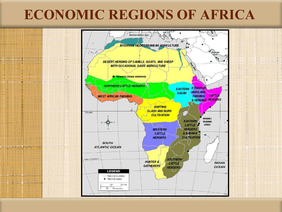 ECONOMIC REGIONS OF AFRICA