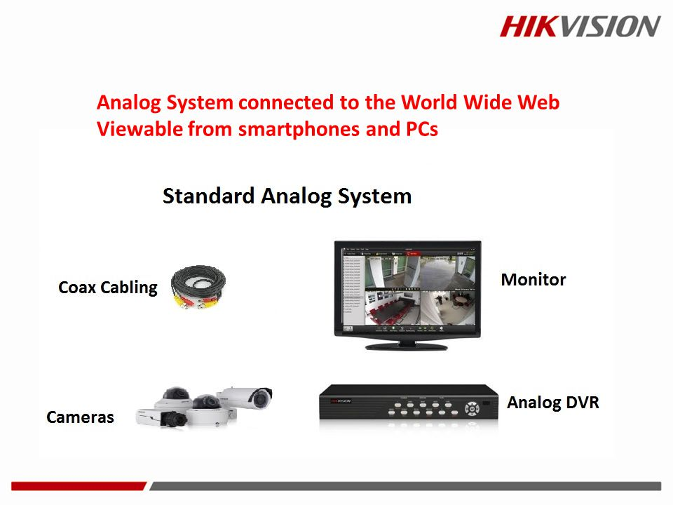 Analog System connected to the World Wide Web