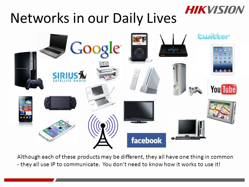 Networks in our Daily Lives
