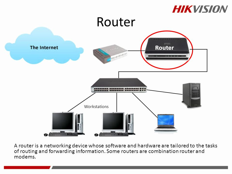 Router Router. Workstations.