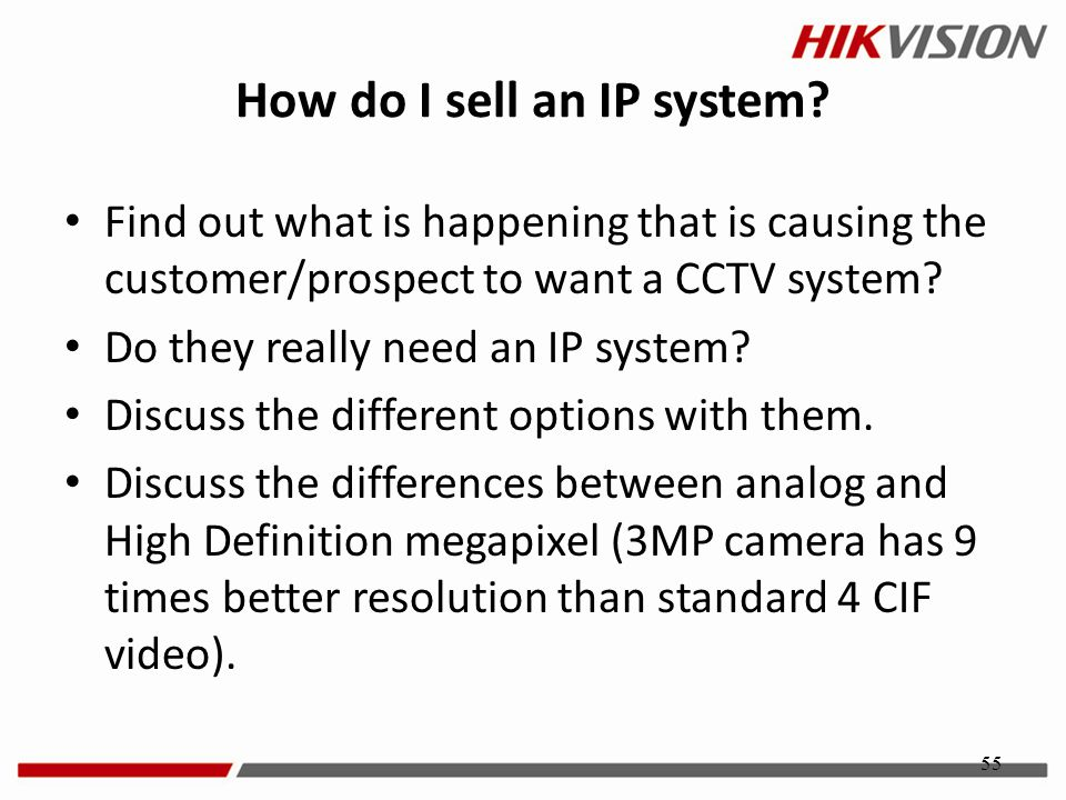 How do I sell an IP system